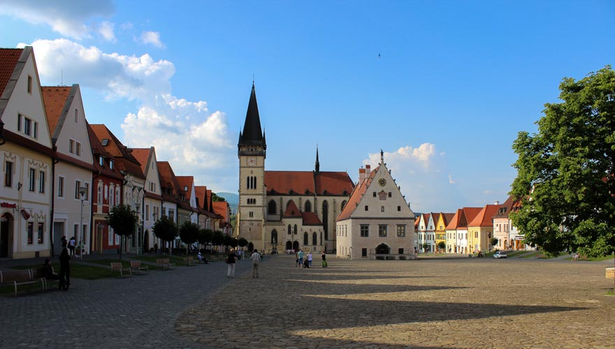 UNESCO Bardejov & Wooden Churches Tour