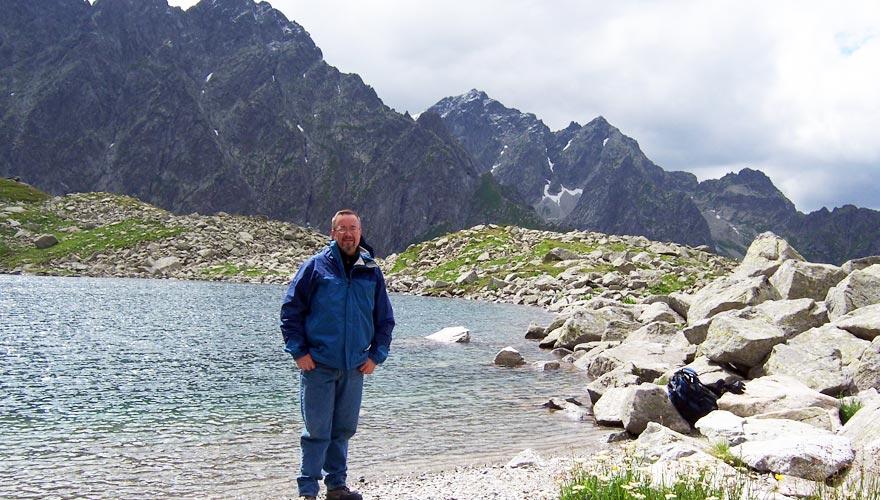 Bielovodska Valley Litvorove Mountain Lake