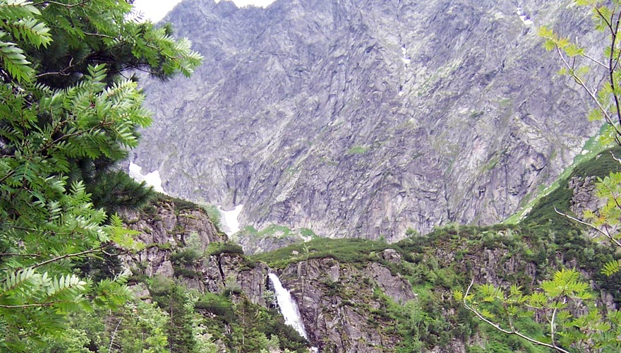 Bielovodska Valley Hviezdoslavov Waterfall