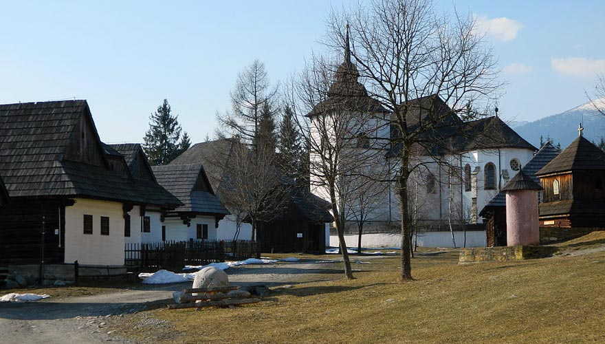 Demanovska Ice Cave &  Open Air Museum in Pribylina