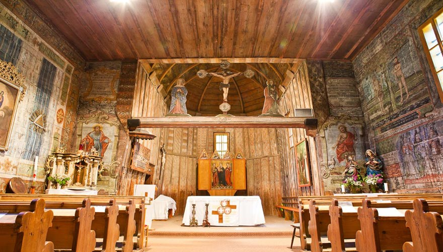 Hervartov Wooden Church