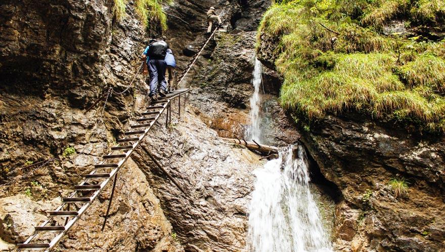 Slovensky Raj - waterfall