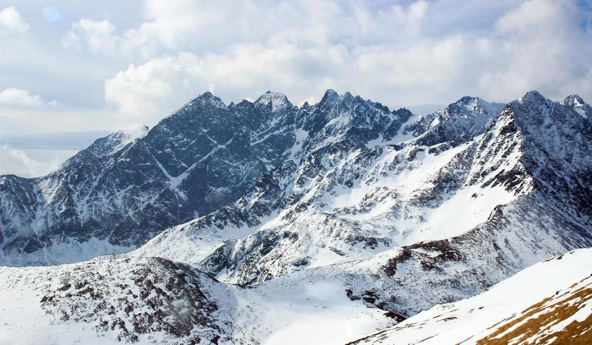 High Tatras winter